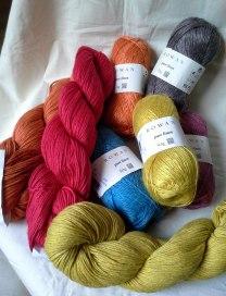 Rowan linen yarns