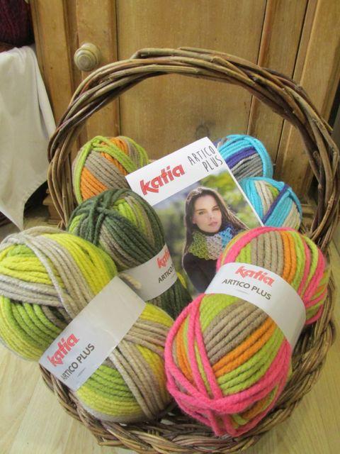Katia cowl kit knitting