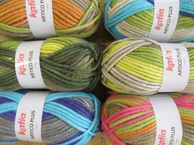 Katia cowl knitting kits