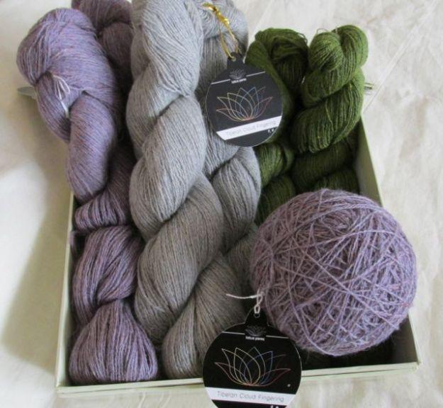 Yak yarn. Really.