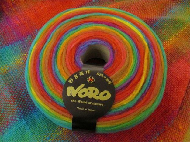 Noro rainbow roll 1