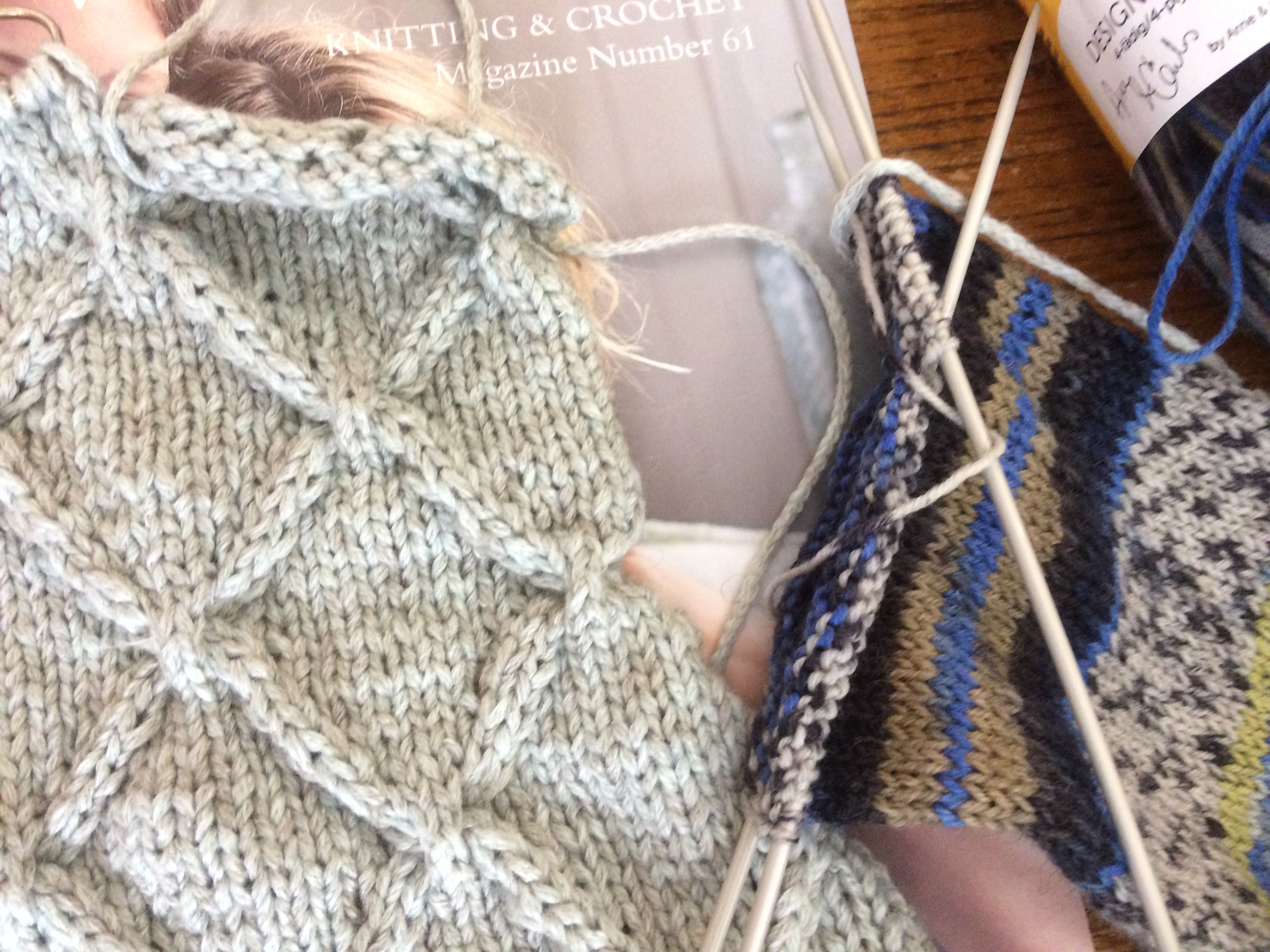 Knitting   Knit one… Dolgellau